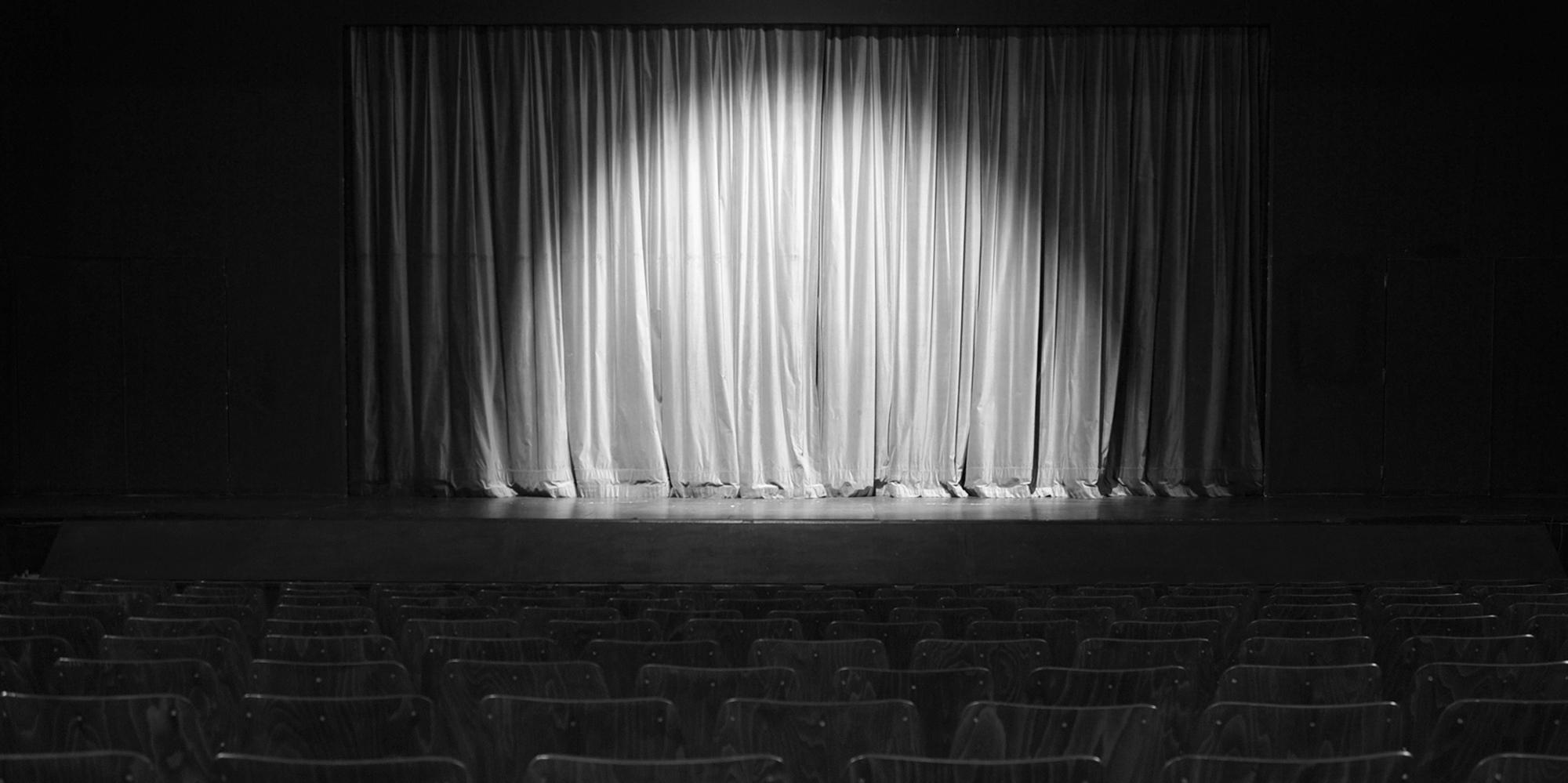 Scéna Divadla Bolka Polívky